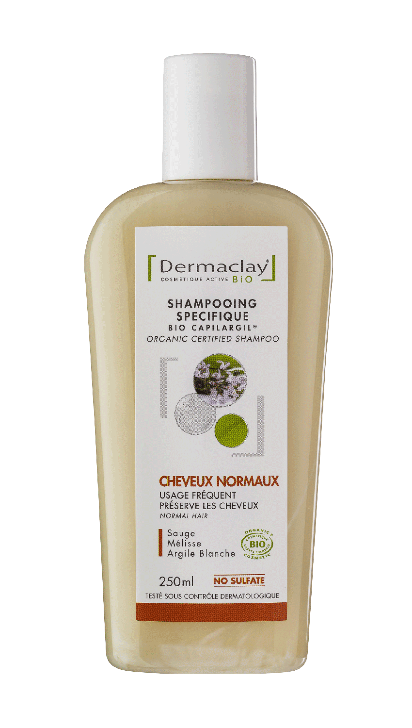 Shampooing cheveux normaux 250ml